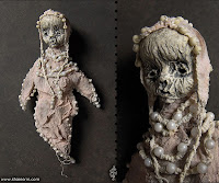 creepy mummy dolls for halloween