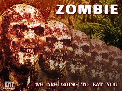 Zombie 1024x768 wallpaper