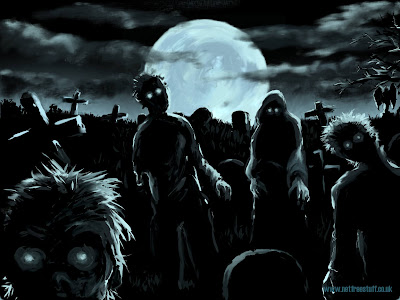 horrible zombies world wallpaper