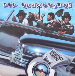 LP BLACKBYRDS - Unfinished Business  (1976) (Only for Enchange)