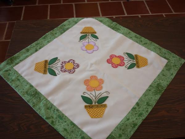 Toalhinha de mesa patchwork