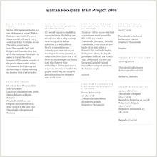 Balkan Flexipass Train