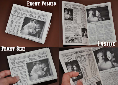 The First Day of the Rest Of My Life...With You: Newspaper Wedding ...