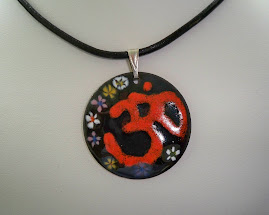 A successful Om just out of the Kiln