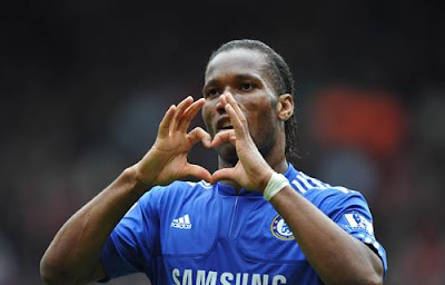 Drogba wins chelsea player of the year