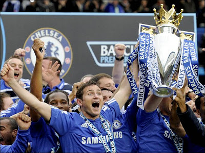 chelsea win the premier league