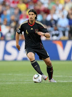 sami khedira playing for germany in the world cup is a transfer target for chelsea