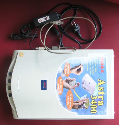 Jual 2nd Scanner UMAX Astra 3400 pemakaian sendiri