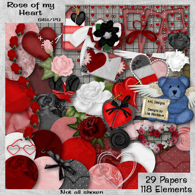 pictures of roses and hearts