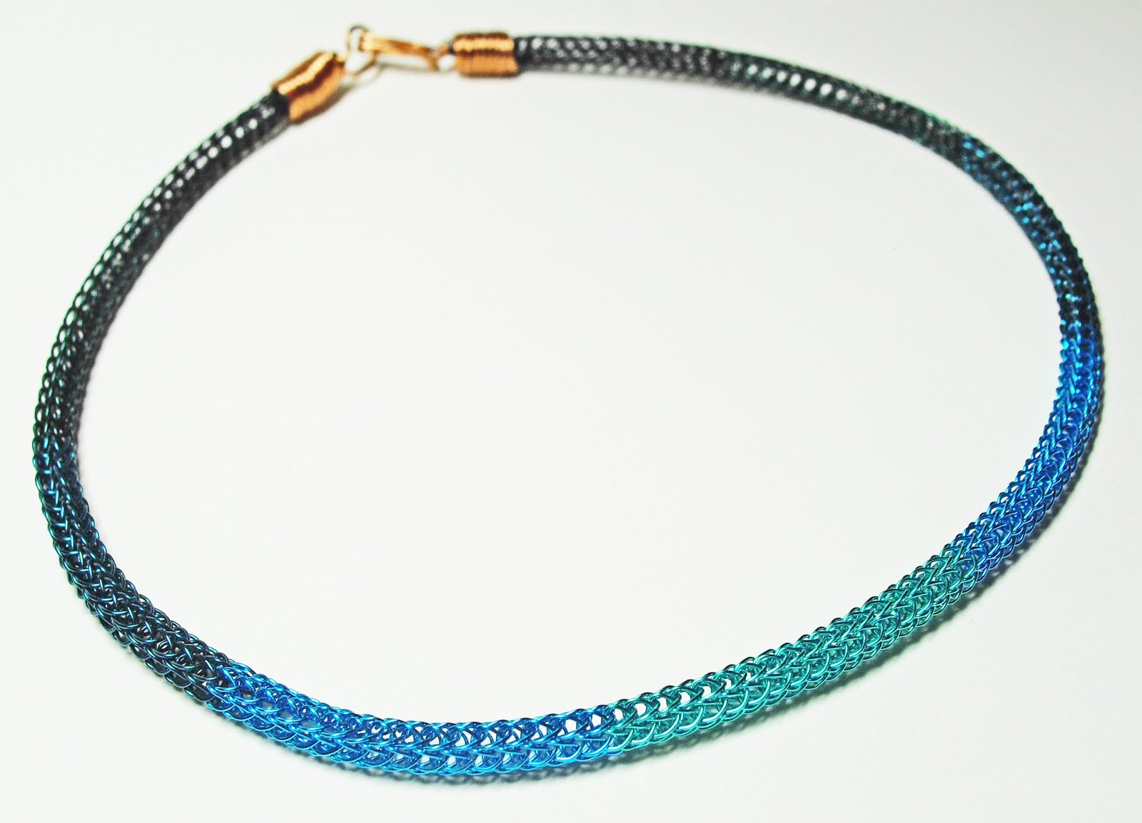 Tangible Daydreams: Viking Wire Weaving: 4 necklaces