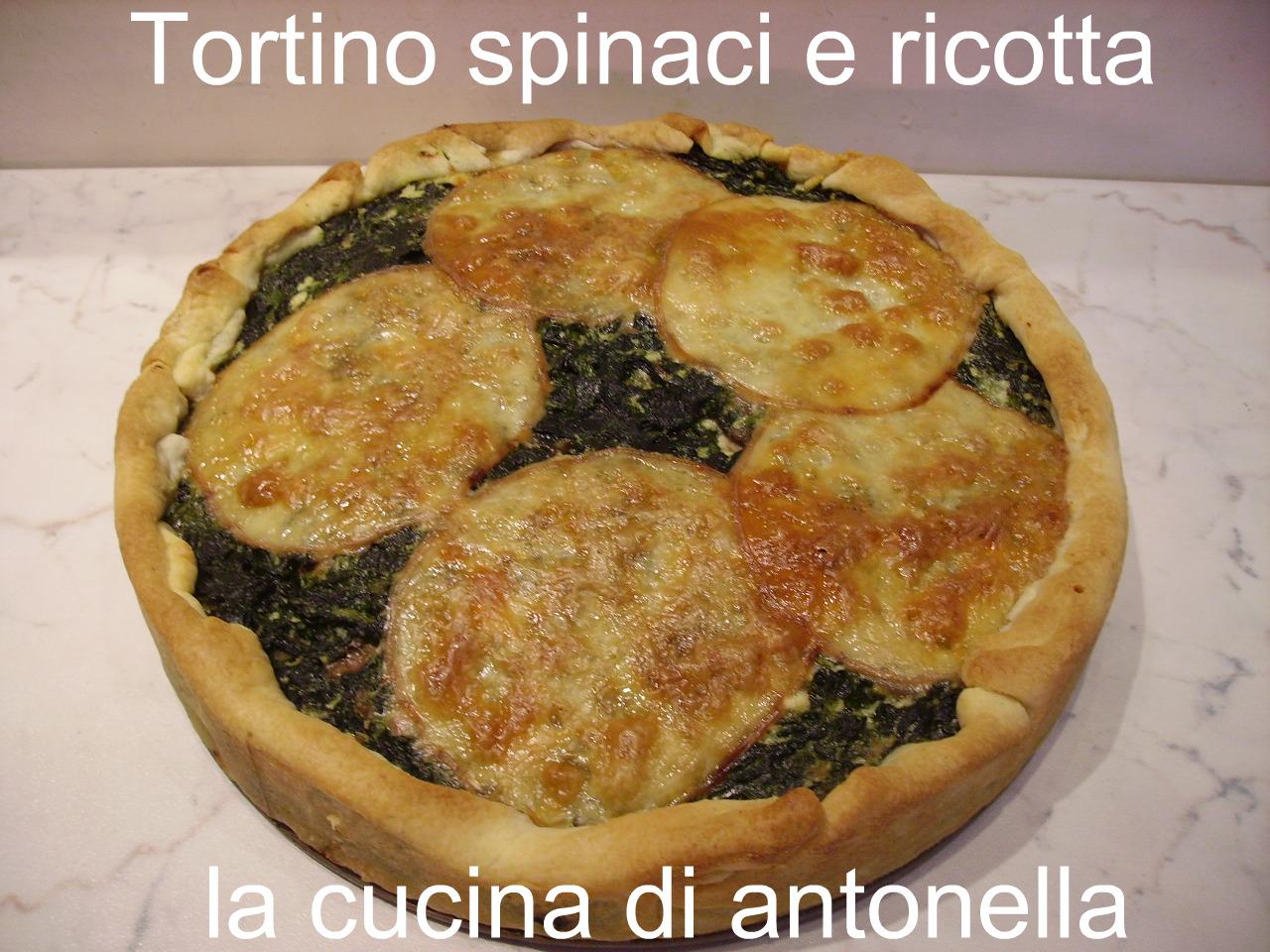 La cucina di antonella tortino di spinaci e ricotta - La cucina di sara torte ...