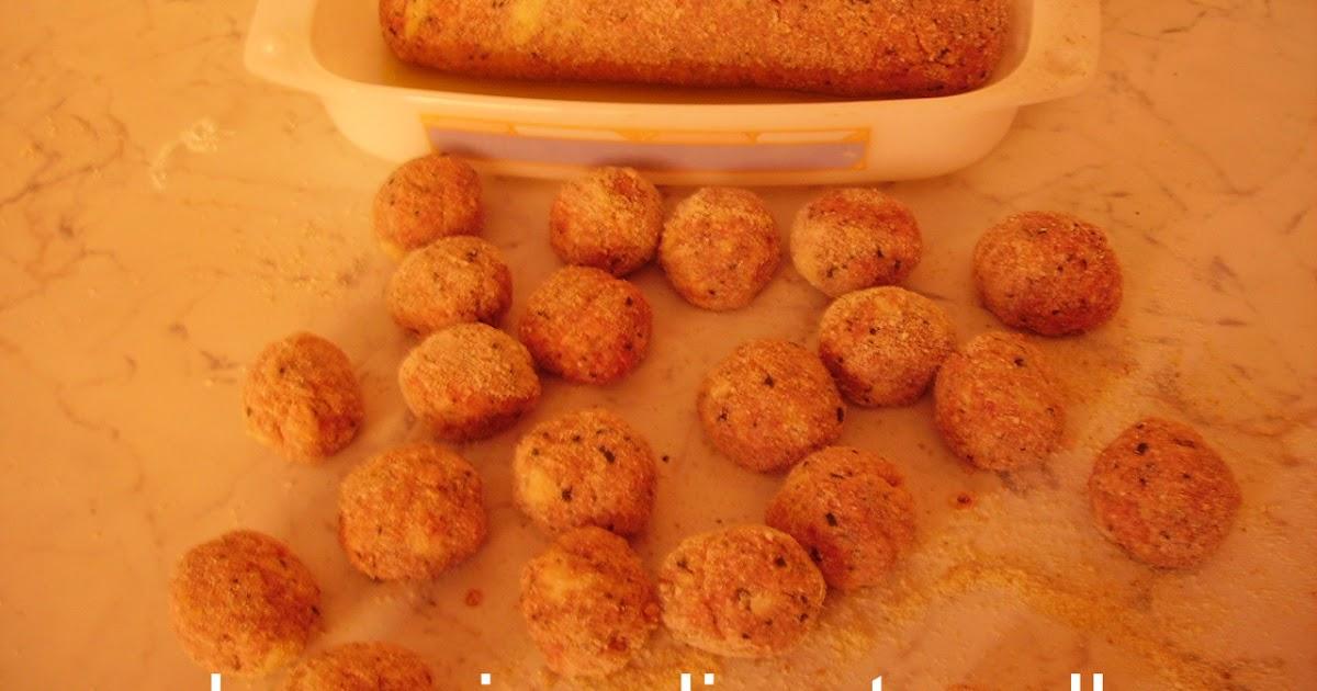 La cucina di antonella polpettine in sugo o fritte o al forno - Cucinare lo sgombro al forno ...