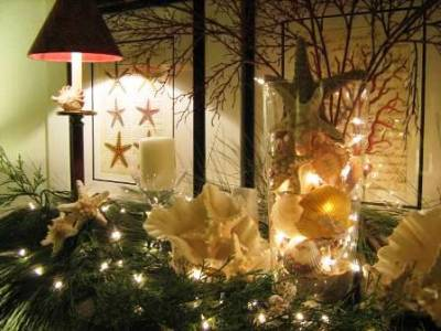 Beach House Living Holiday Decorating Inspiration