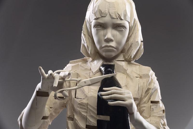 Gehard Demetz - sculptures sur bois Aaa