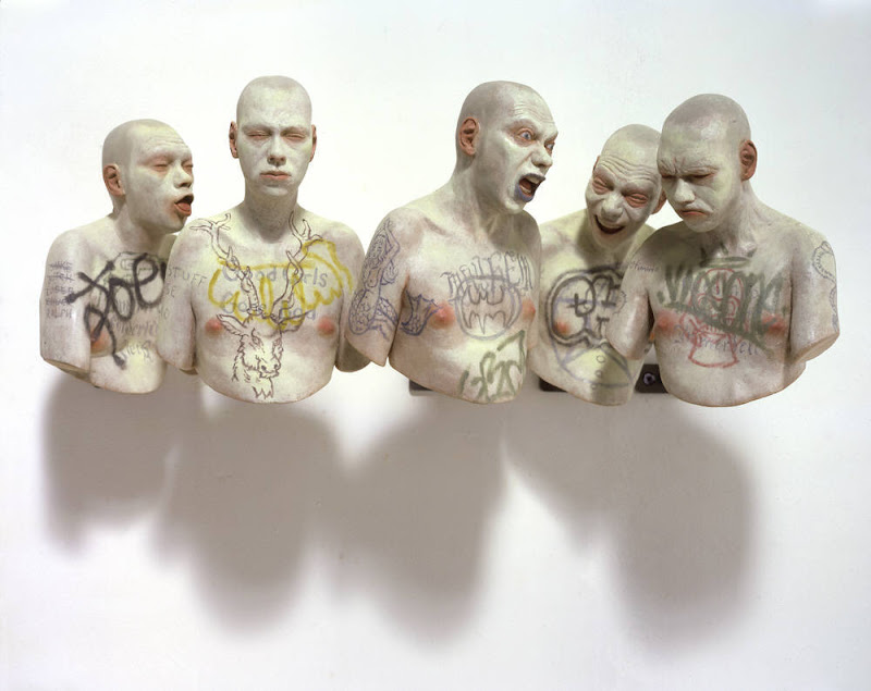Gehard Demetz - sculptures sur bois Richard_Stipl
