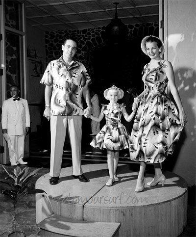 1950 Fashion Show on Shaheen Fashion Show Hawaii 1955