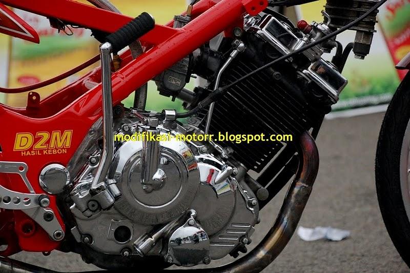 Modif Shock Belakang Yamaha Scorpio