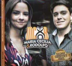 Cd Maria Cecilia & Rodolfo - Caldas Country Fest - 2009