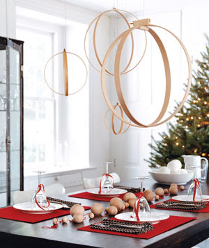 artistic holiday table decorations