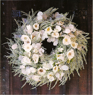 winter white holiday wreath