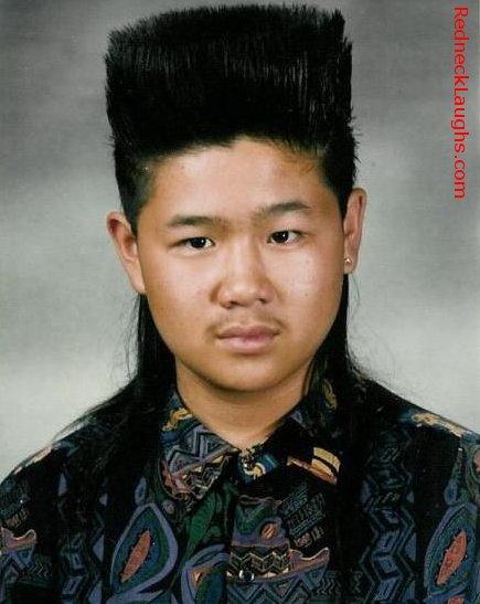 Flattop hair style