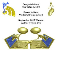 Visitor's Choice Award at Books in Sync