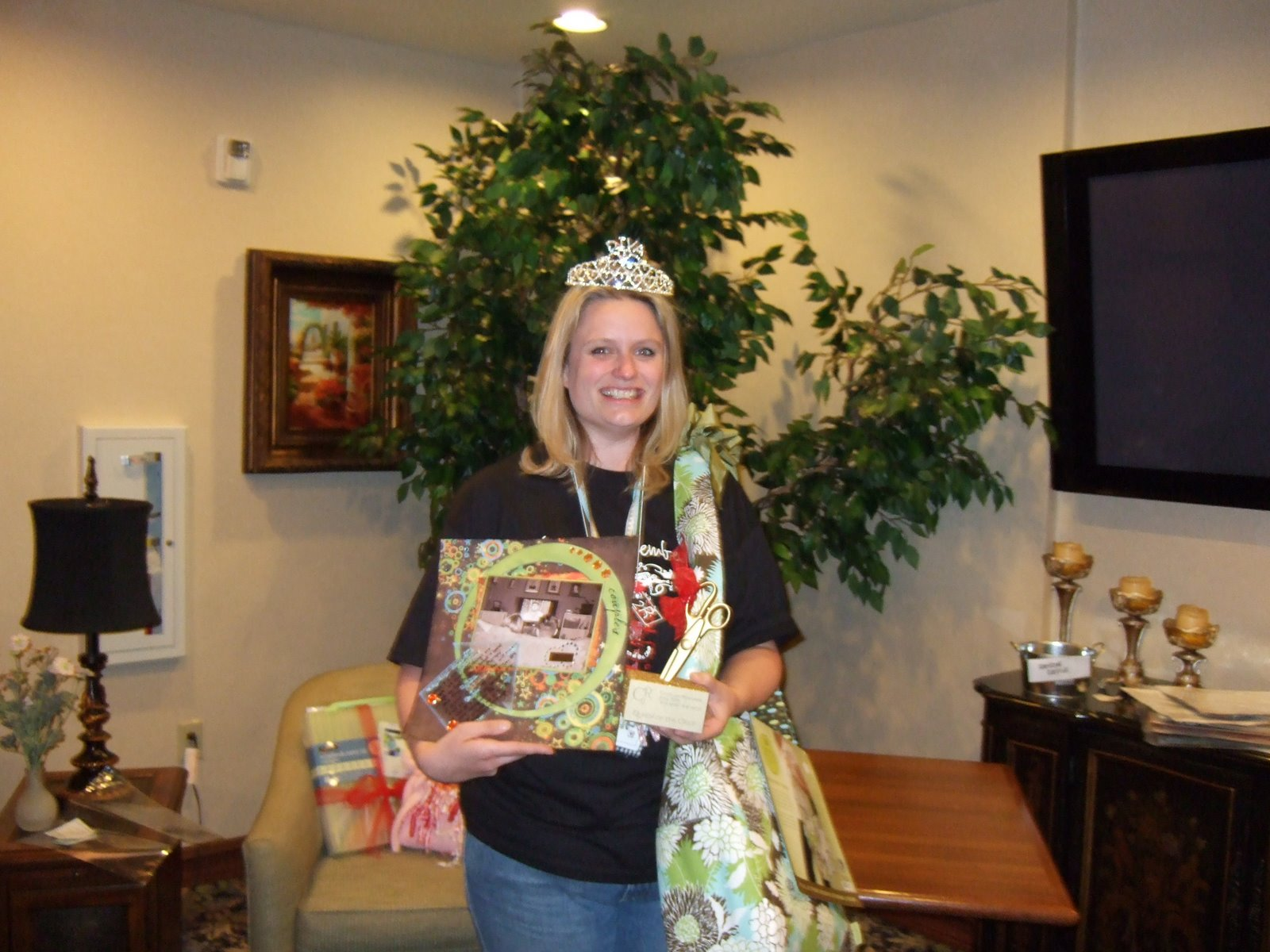 Our April 2008 C2R Queen of the Crop!