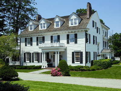 Made in heaven new england home for New england colonial house