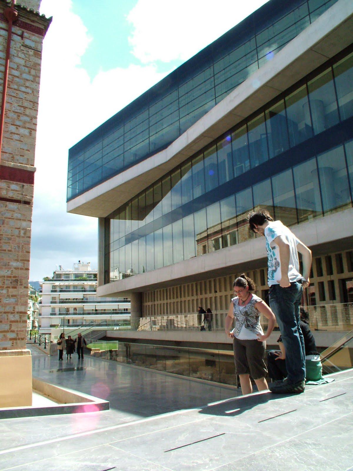 Atene nuovo museo dell 39 acropoli for Ristoranti ad atene