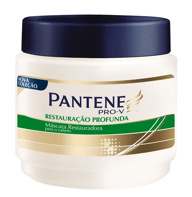 Pantene PRO-V: Máscara de tratamento pros cabelos