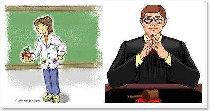 Magistério e Magistrado - dá pra confundir?