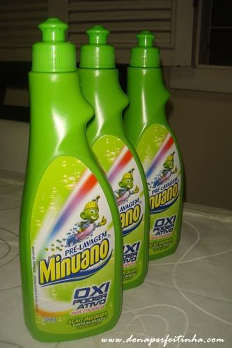Minuano OXI Poder ativo - pré lavagem