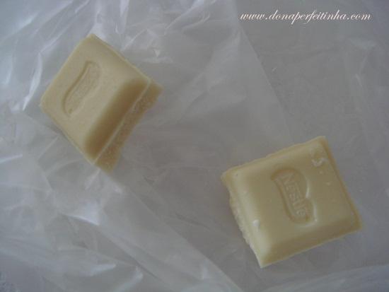 Uma dica pros chocólatras comerem menos chocolate