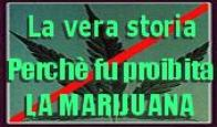 La vera storia della Marijuana