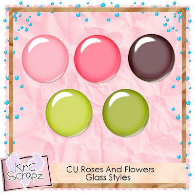 CU Roses And Flowers Glass Styles Freebie By: KnCscrapz Kdevita_rnfgspreview