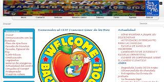 C.E.I.P. FRANCISCO GINER DE LOS RÍOS WEB PAGE