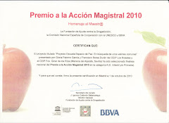 PREMIO A LA ACCIN MAGISTRAL