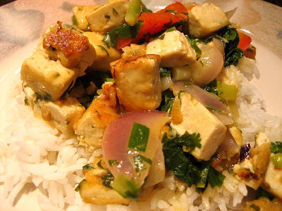 Thai Tofu Red Curry With Vegetables - Gluten Free Diva