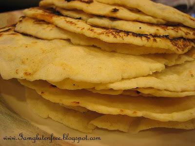 Gluten Free Flour Tortillas - EASY PEASY!!! - Gluten Free Diva