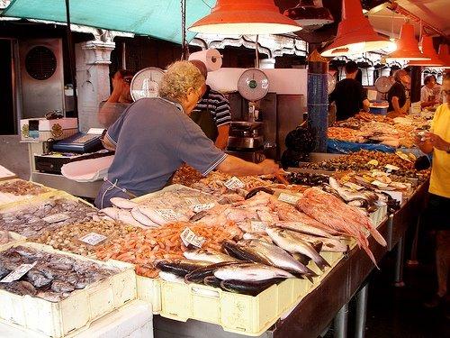 Mercado de peces, Chioggia