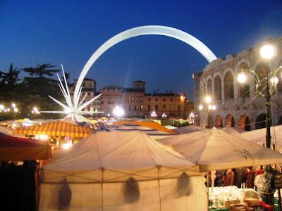 Saint Lucia Market,Verona