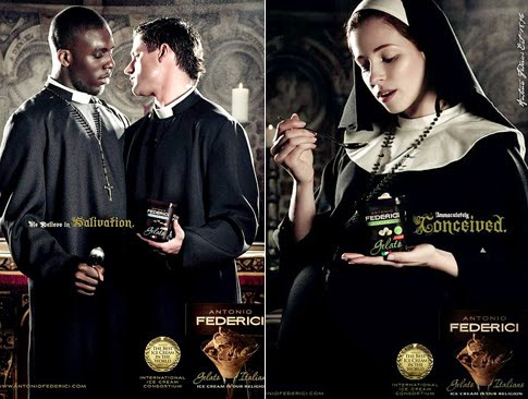 Priests getting it on and pregnant nuns. Classy stuff.