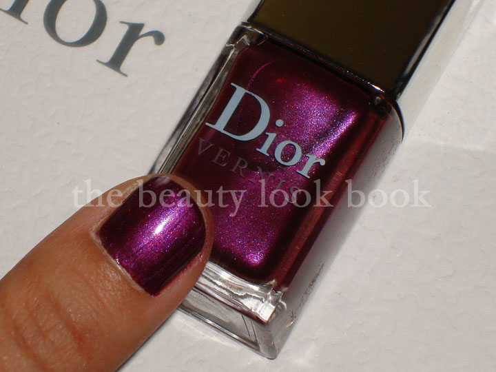 There is also a gorgeous nail polish that has complex shimmers of  burgandy,wine,purple,fuschia which I am absolutely in love with.