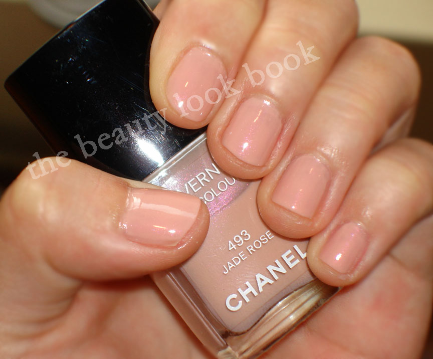 Chanel Jade Rose Le Vernis Nail Colour | The Beauty Look Book