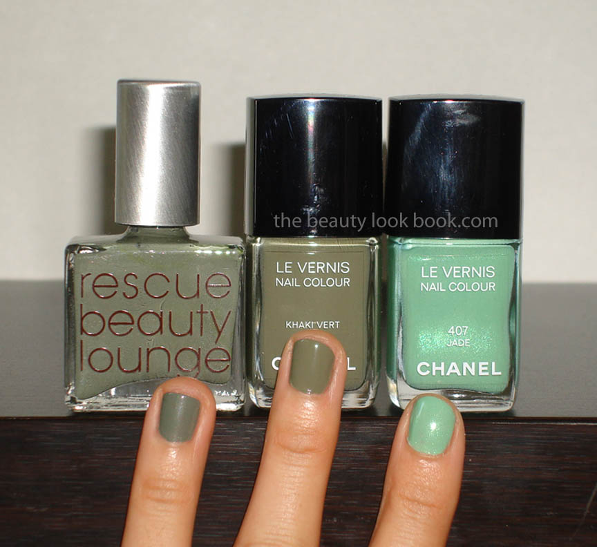 Les Khakis de Chanel: Khaki Brun, Khaki Vert & Khaki Rose | The ...