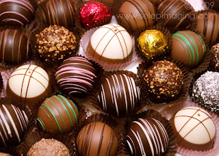Chocolate Truffles by Jeanne Selep Imaging