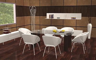 Sala de jantar conforto bom by stylist sims the for O que significa dining room em portugues