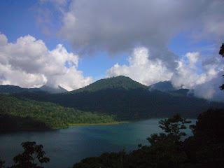 bali volcano view