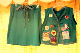 Halloween Costume - Girl Scout Uniform