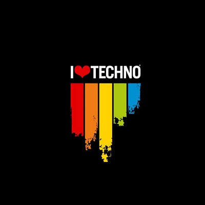 I love Techno download free wallpapers for Apple iPad